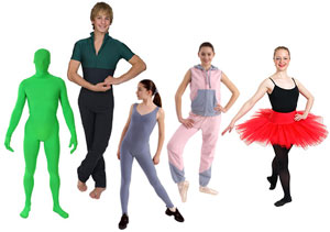 Dancewear, costumes and warm ups for adults and children who love to dance.